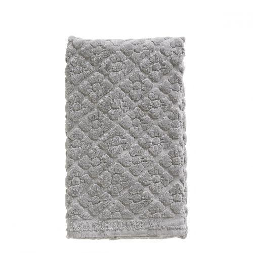 Serviette de toilette Douceur Florale gris