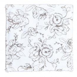 Pochon de 10 lingettes en coton Les rituels beauté de Mathilde