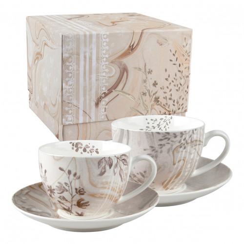 Coffret de 2 tasses à thé Palazzo Bello