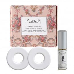 Recharge de parfum pour diffuseur de voiture Escapades Parfumées - Marquise