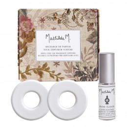 Recharge de parfum pour diffuseur de voiture Escapades Parfumées - Rose Élixir