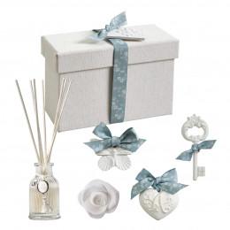 Coffret diffuseur de parfum d'ambiance Les présents de Mathilde - Poudre de Riz