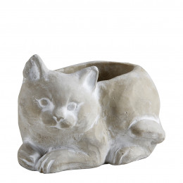 Pot Chat Jardin Antique