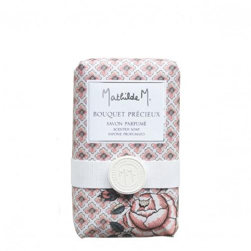 Savon parfumé Cachemire Exquis - Bouquet Précieux