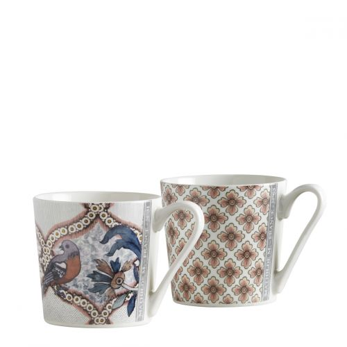 Set de 2 mugs Madame de Pompadour - Dominoté n°63