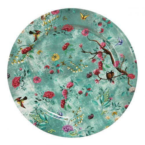 Set de 2 assiettes de présentation - Collection Capsule Rêve de Chine