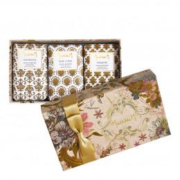 Coffret de 3 savons parfumés Cabinet des Merveilles