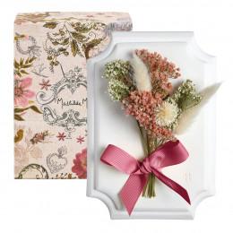Petit bouquet mural Cabinet des Merveilles blanc