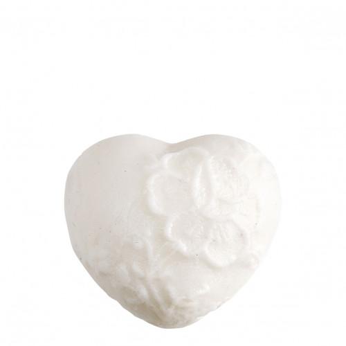 Savon d'invités parfumé Cœur brodé - Rose Élixir
